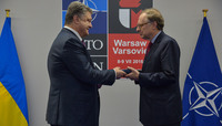 NATO Deputy Secretary General receives decoration from Ukraine President - NATO Summit Warsaw