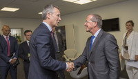 Visit to NATO by the UN Special Representative for the United Nations Support Mission in Libya