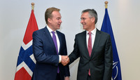 The Minister of Foreign Affairs of Norway visits NATO