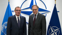 United Nations Under-Secretary-General visits NATO