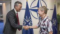 First day in office of NATO Deputy Secretary General Rose Gottemoeller