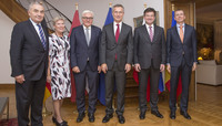 Working dinner with NATO Secretary General Jens Stoltenberg and Ministers of Foreign Affairs