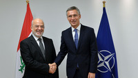 The Minister of Foreign Affairs of Iraq visits NATO