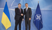 The President of Ukraine visits NATO
