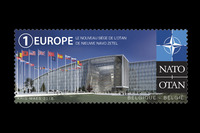 NATO stamps throughout history