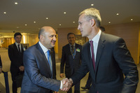Meetings of the NATO Defence Ministers at NATO Headquarters in Brussels - Bilateral meeting between NATO Secretary General and Minister of Defence of Turkey