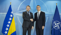 Chairman of the Presidency of Bosnia and Herzegovina visits NATO