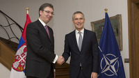 Prime Minister of Serbia visits NATO