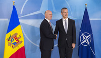 Visit to NATO by the Prime Minister of the Republic of Moldova