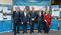 Exhibit commemorating sixtieth anniversary of the Report of the Committee of Three on Non-Military Cooperation in NATO