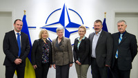 Members of Parliament of Ukraine visit NATO