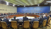 Meetings of the NATO Foreign Ministers at NATO Headquarters in Brussels - Meeting of North Atlantic Council