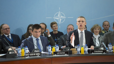 NATO Secretary General: ''Diplomacy only viable solution to Ukraine crisis.''