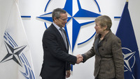 The President of the NATO Parliamentary Assembly visits NATO