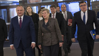 The President of the Republic of Moldova visits NATO