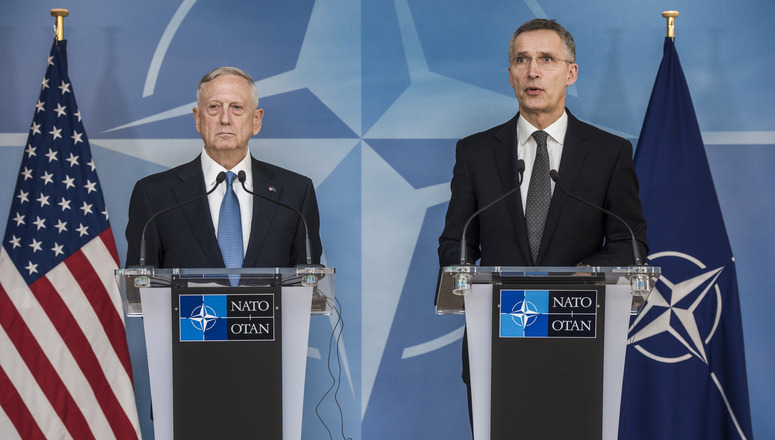 Nato Joint Press Statements With Nato Secretary General