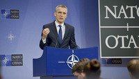 Meetings of the NATO Defence Ministers at NATO Headquarters in Brussels - Press Conference NATO Secretary General Jens Stoltenberg