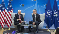 The Vice President of the United States of America visits NATO