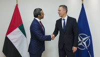 Foreign Affairs Minister of United Arab Emirates visits NATO