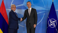 The President of the Republic of Armenia visits NATO