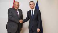 The Minister of Foreign Affairs of the Arab Republic of Egypt visits NATO