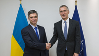 Ukrainian Deputy Foreign Affairs Minister visits NATO