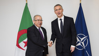 Visit to NATO by the Minister of State, Minister of Foreign Affairs and International Cooperation of the Republic of Algeria