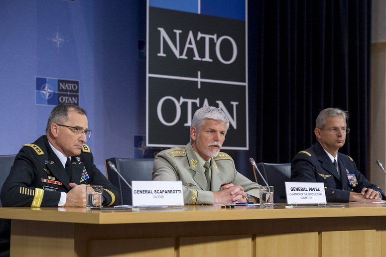 NATO - Opinion: Questions and answers at the joint press conference