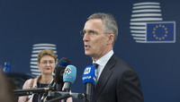 NATO Secretary General attends the European Union Foreign Affairs Council in Defence format