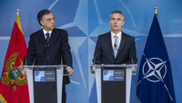 Ceremony to mark the accession to NATO of Montenegro