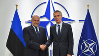 Bilateral meeting with the Minister of Defence of Estonia - Meetings of NATO Defence Ministers