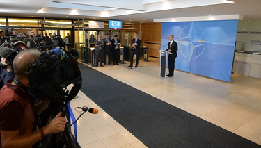 NATO Secretary General opens meeting of Defence Ministers, confirms Afghanistan troop increase