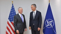 Bilateral meeting with the US Secretary of Defense - Meetings of NATO Defence Ministers