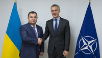 The Minister of Defence of Ukraine visits NATO