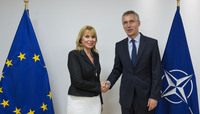 EU Commissioner for Internal Market, Industry, Entrepreneurship and SMEs visits NATO
