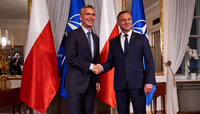 The NATO Secretary General visits Poland