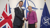 UK Minister of State for the Armed Forces visits NATO