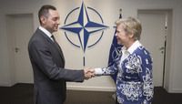 Visit to NATO by the Minister of Defence of the Republic of Serbia