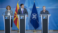 Foreign and Defence Ministers of the former Yugoslav Republic of Macedonia(1) visit NATO