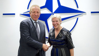Behgjet Pacolli visits NATO Headquarters