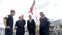 NATO Secretary General visits Clyde Naval Base in Scotland