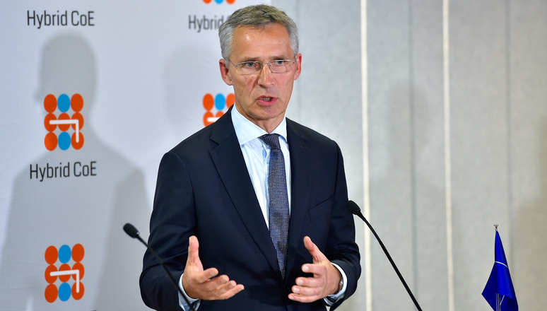 Press point by NATO Secretary General Jens Stoltenberg on occasion of the inauguration of the European Centre of Excellence (CoE) for Countering Hybrid Threats