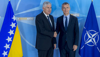 The Chairman of the Presidency of Bosnia and Herzegovina visits NATO