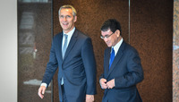 NATO Secretary General visits Japan -  Meeting with the Minister of Foreign Affairs of Japan