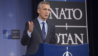 NATO Secretary General holds a Pre-Ministerial Press Conference