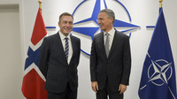 Meetings of the NATO Defence Ministers at NATO Headquarters in Brussels -Bilateral meeting between NATO Secretary General and the Minister of Defence of Norway