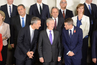Meetings of the NATO Defence Ministers at NATO Headquarters in Brussels - Official Family Portrait