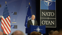 Meetings of the NATO Defence Ministers at NATO Headquarters in Brussels - Press Conference by the US Secretary of Defense