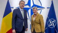 Deputy Minister of Foreign Affairs of Romania visits NATO