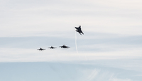 Denmark takes over the lead in NATO's Baltic Air Policing